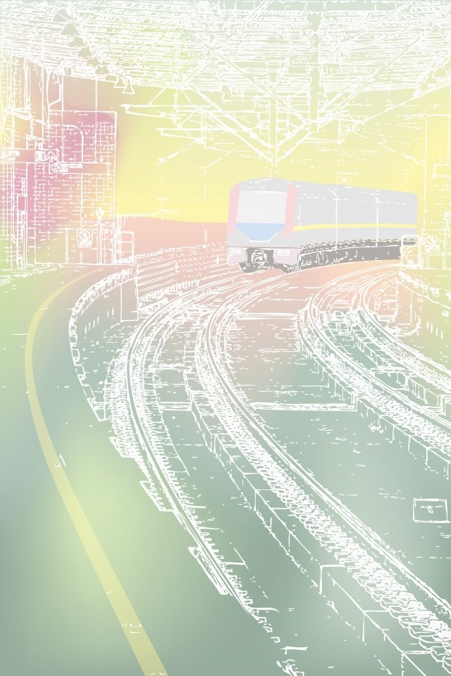 здание городского метро Ресурсы иллюстрации