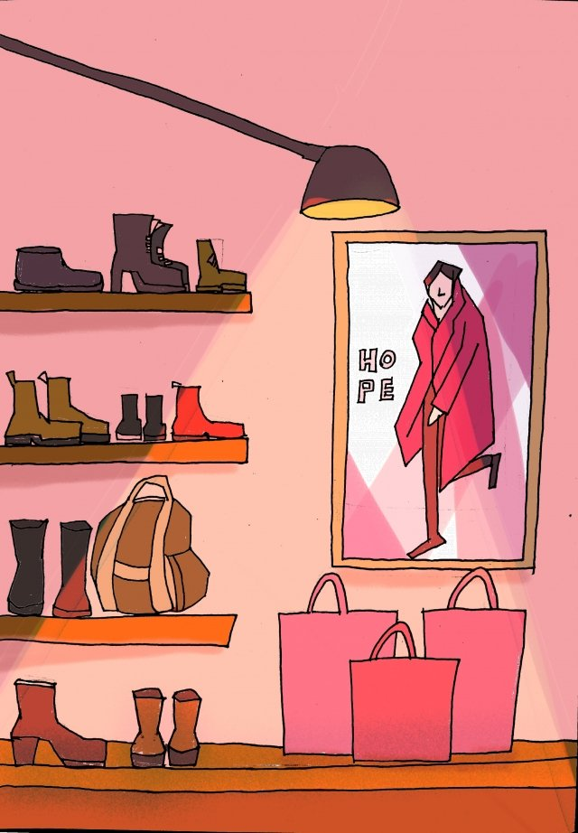 clothes commodity consumption the mall, Clothes, Commodity, Consumption illustration image