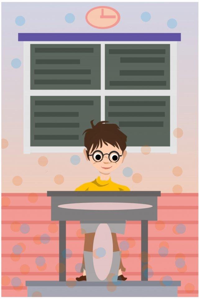colégio entrada exame tempo trabalho duro sprint Material de ilustração
