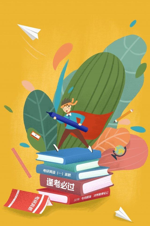 estudantes universitários vêm em ganhar pós graduação Material de ilustração