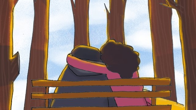 couple valentines day tanabata romantic, Beautiful, Illustration, Candlelight illustration image