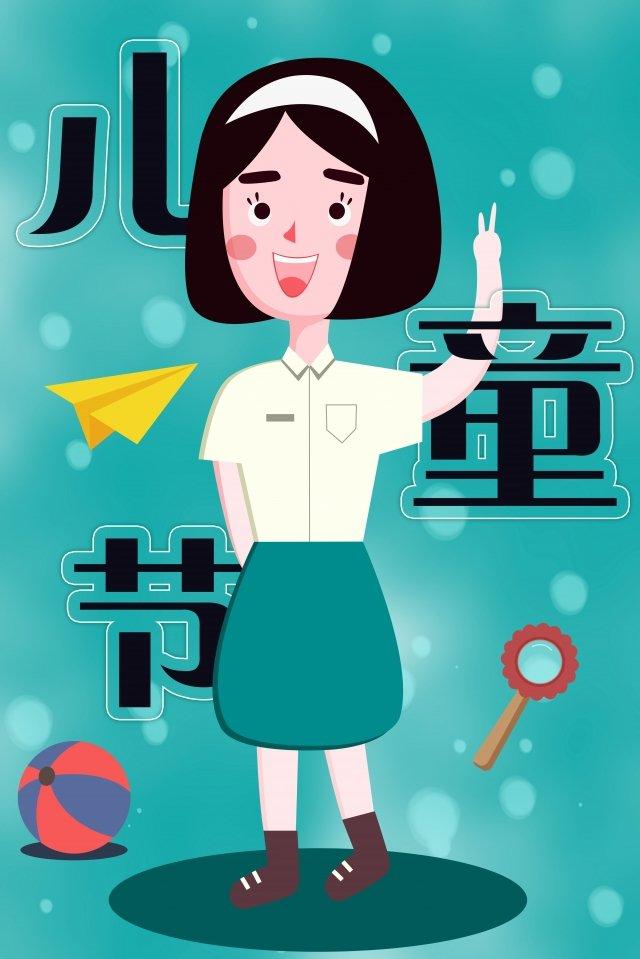 かわいい漫画の子供の日の子供子供の日の子供 イラスト素材