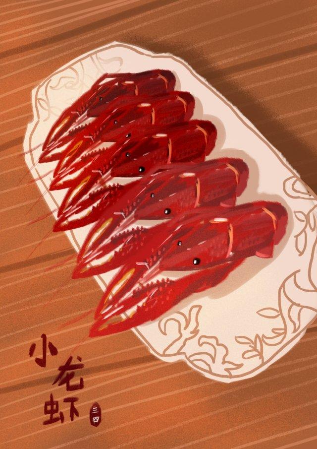 delicious taste spicy food llustration image