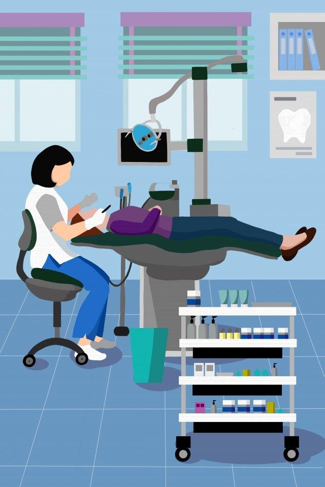 dentist hospital see a doctor medical, Dentist, Hospital, See A Doctor illustration image