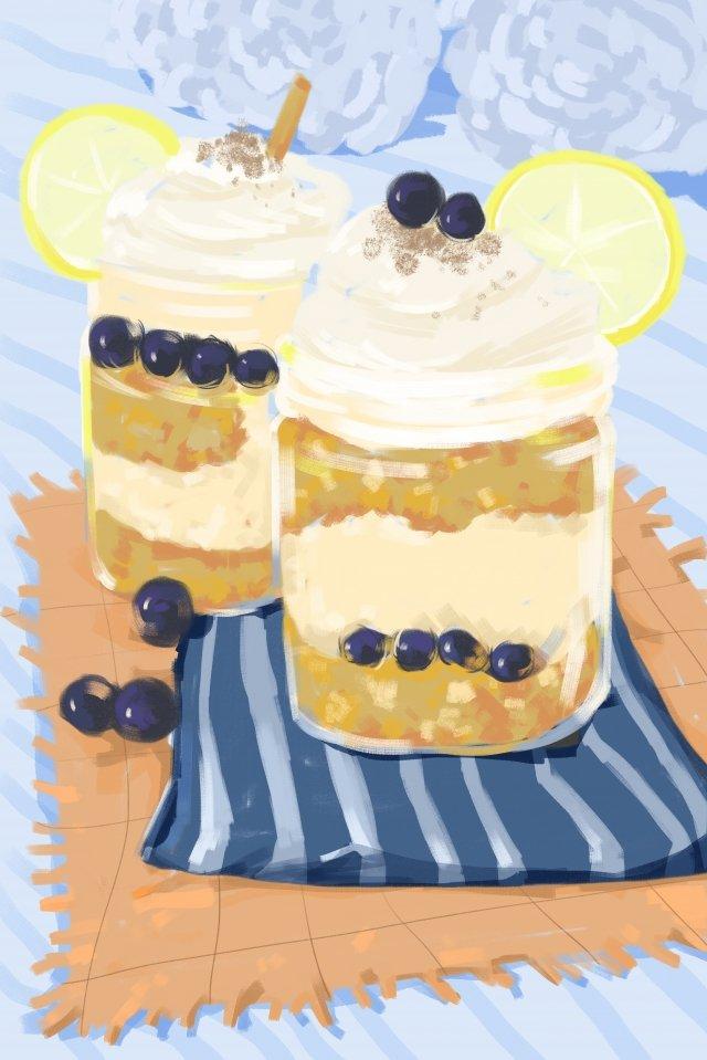 dessert cake cupcake pastry llustration image