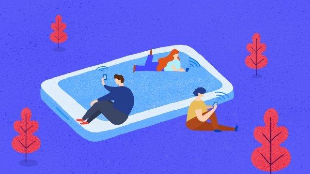 numérisation de la conception de connexion de téléphone mobile image d'llustration image d'illustration