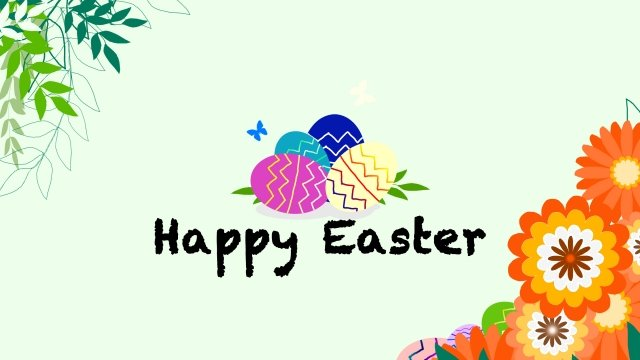 easter easter illustration egg, Spring Blossoms, Festive Egg, Hand Painted Egg illustration image