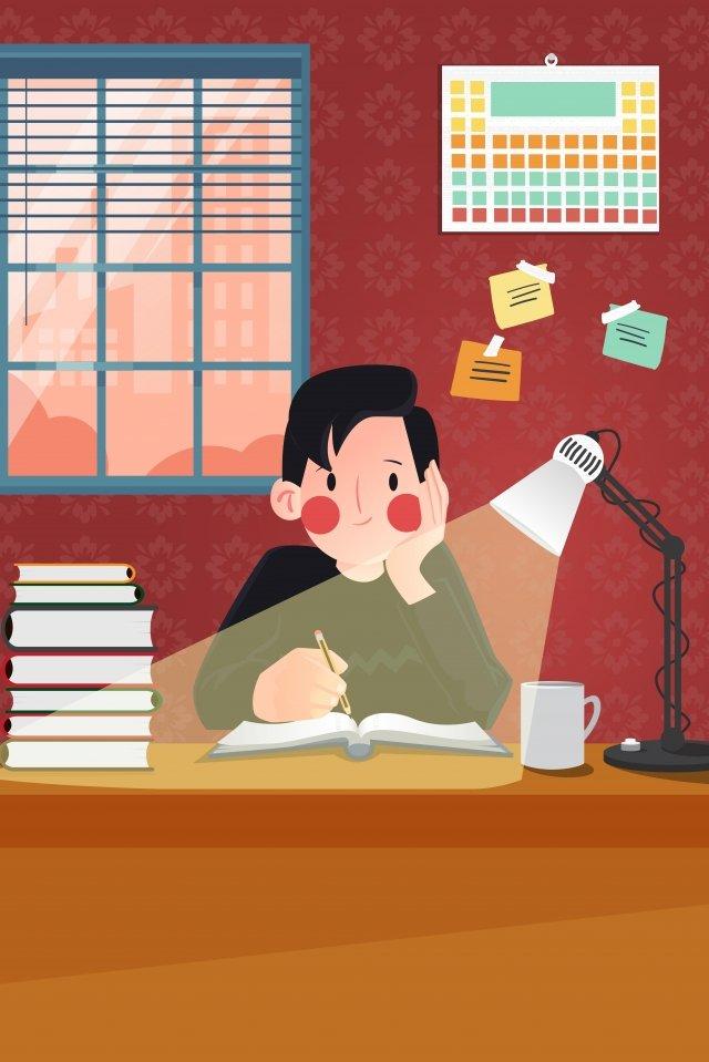 漫画教育学生の宿題シーズンの図を作る 教育 文化 イラスト 漫画 手描き 小さな男の子 宿題をする 初校 メイクアップ 塾 宿題 読み物 家族教育 学生漫画教育学生の宿題シーズンの図を作る  教育  文化 PNGおよびベクトル illustration image