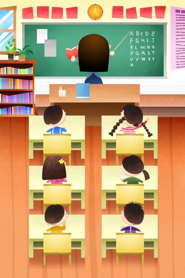 giáo dục tuyên truyền giáo viên bảng đen Hình minh họa
