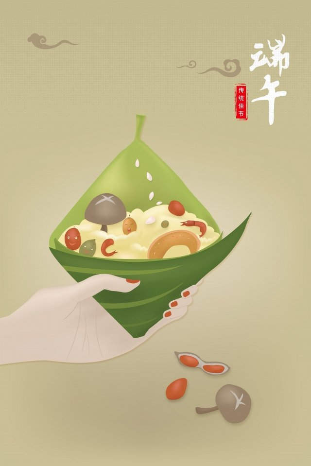 eight treasures cartoon scorpion dragon boat festival illustration womans hand, Scorpion Image, Fifth May, Creative Dice illustration image