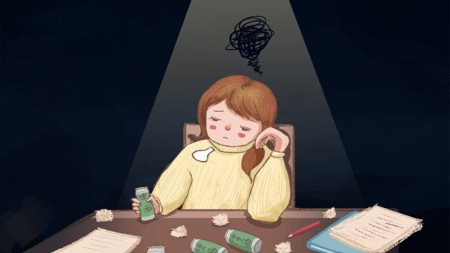 эмоция характер депрессивный депрессивный Ресурсы иллюстрации