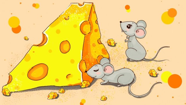 tudo crescendo rato do zodíaco Material de ilustração Imagens de ilustração