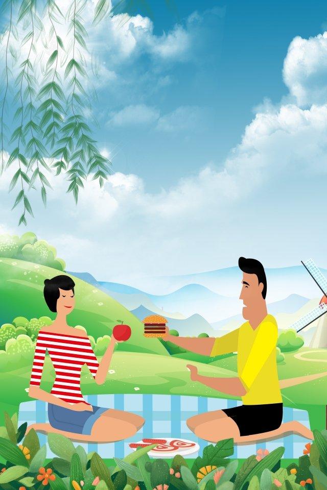 Vatertag handgemalt nach Hause Vater und TochterCharakter  Hintergrund  Charakter PNG Und PSD illustration image