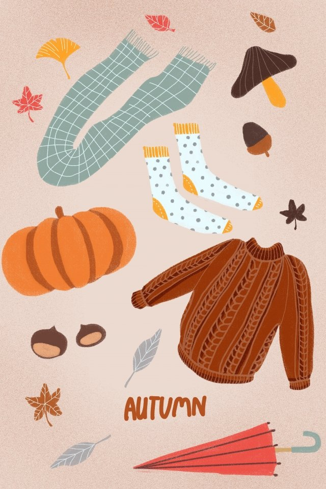 fall autumnal autumn autumn day illustration image