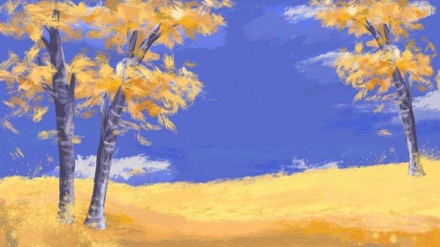 mùa thu mùa thu màu vàng mùa thu Hình minh họa