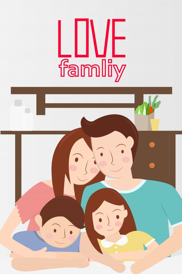 family a family of four mothers day fathers day llustration image illustration image