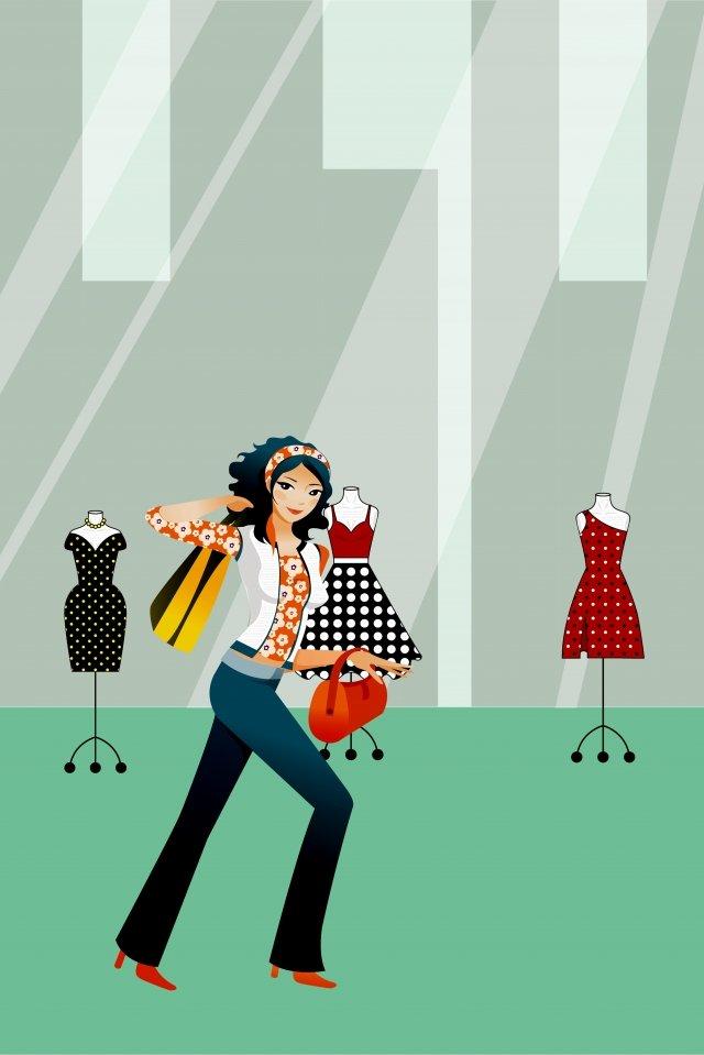 festival store clothes llustration image illustration image