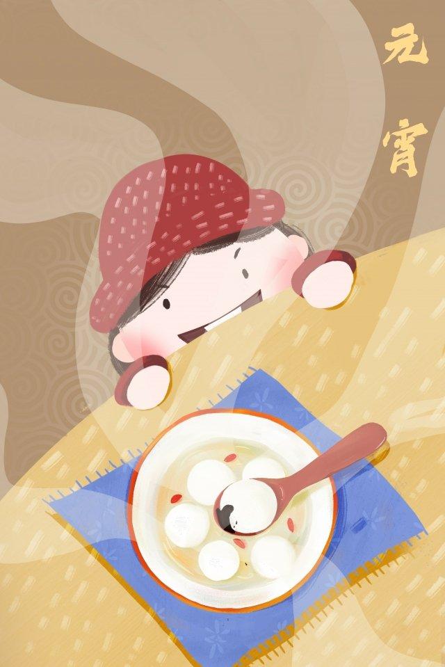 축제 축제 랜턴 축제 tangyuan girl 삽화 소재