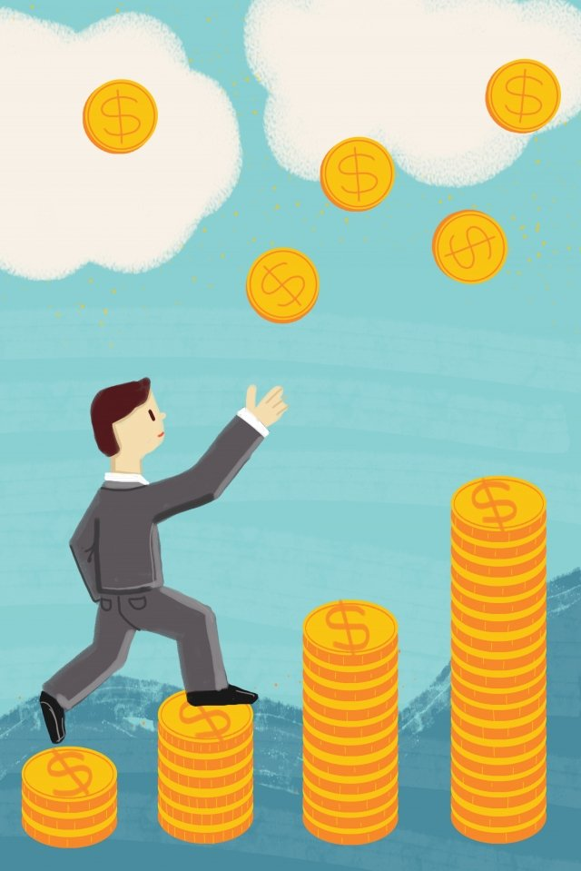 financial business currency gold, Wealth, Accumulation, Rise illustration image