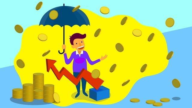 финансовый бизнес золотые деньги Ресурсы иллюстрации Иллюстрация изображения
