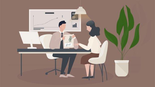 финансовый консультант по финансовому управлению Ресурсы иллюстрации