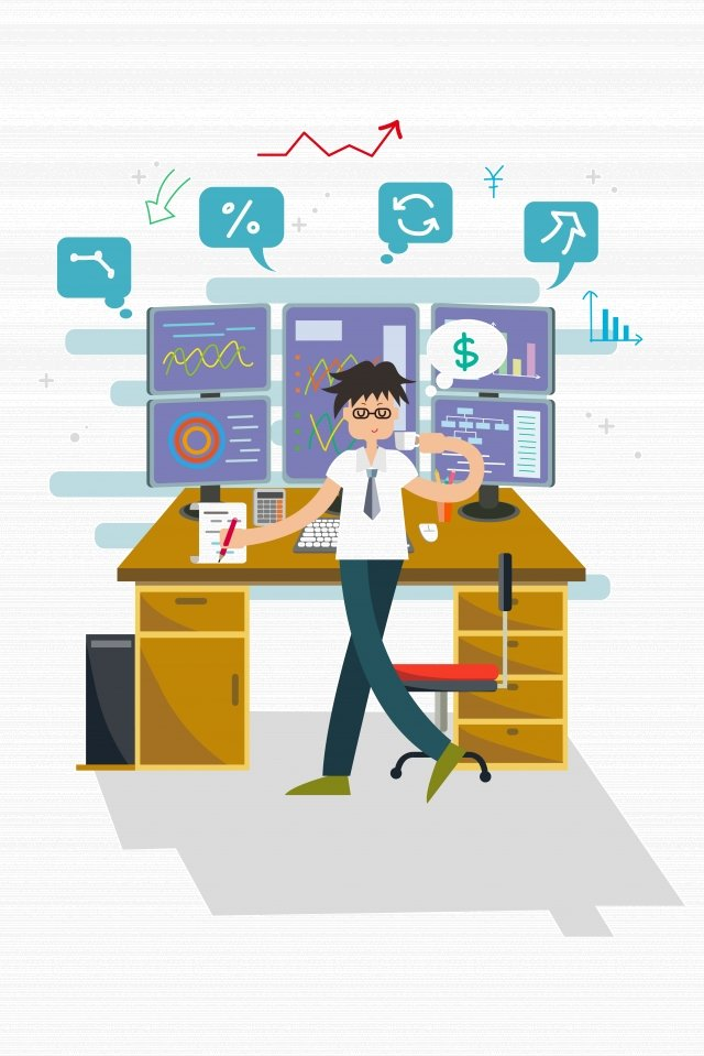 Сохранение тенденций финансового управления финансами Иллюстрация изображения