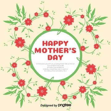 花花柄グリーンパープル イラスト素材 イラスト画像