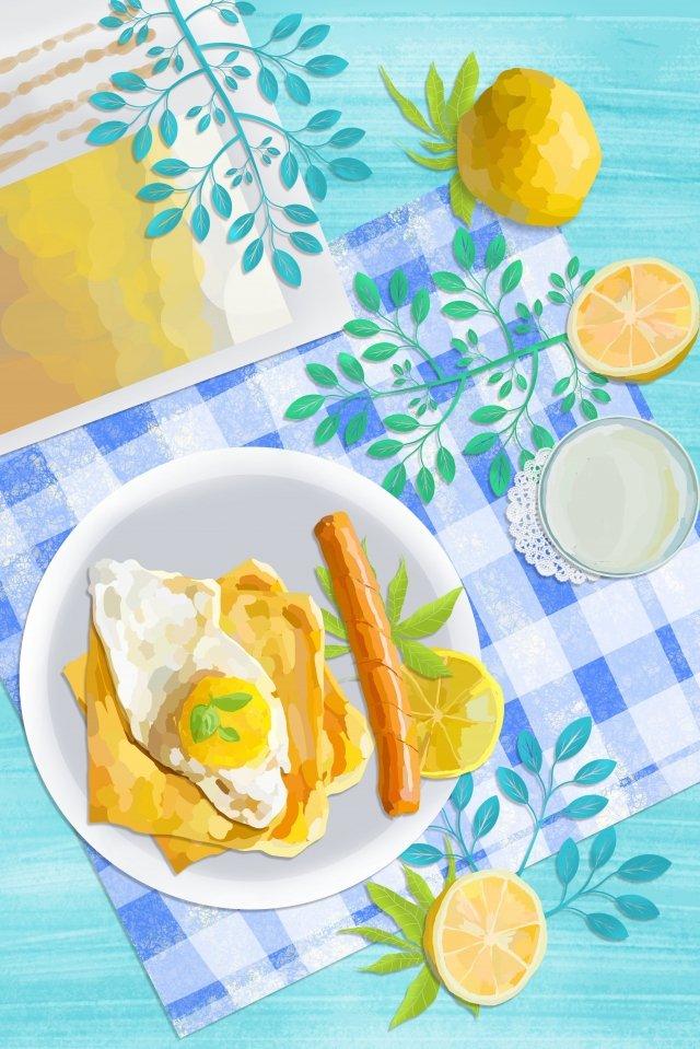 thực phẩm luộc trứng ham ăn sáng Hình minh họa
