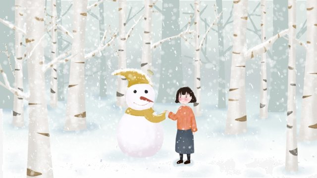 fresh beautiful beginning of winter light snow llustration image illustration image
