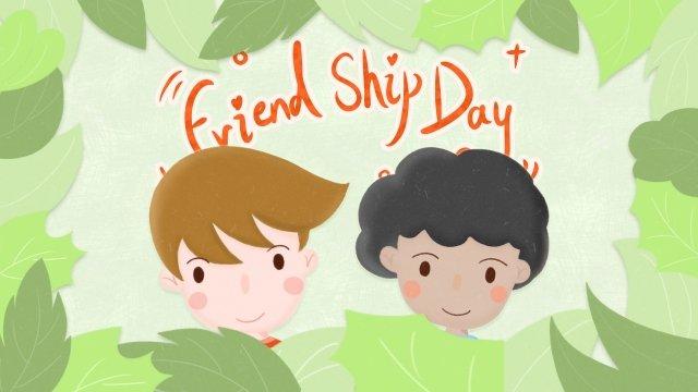 friendship friend friendship years llustration image