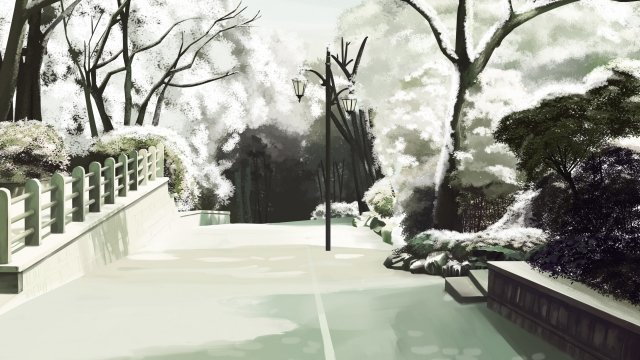 frost drop twenty four solar terms winter white snow llustration image illustration image
