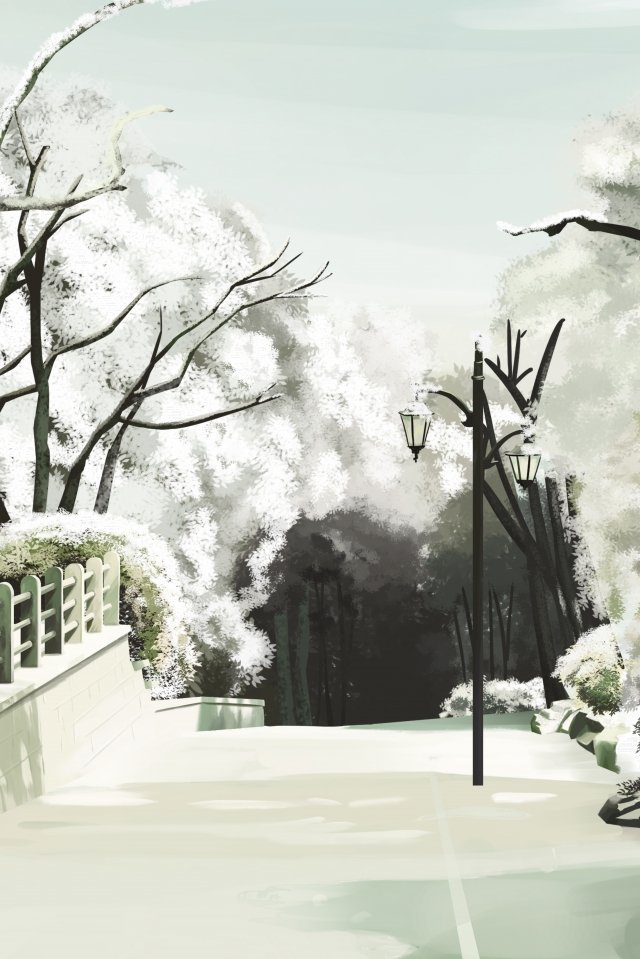frost drop twenty four solar terms winter white snow llustration image illustration image