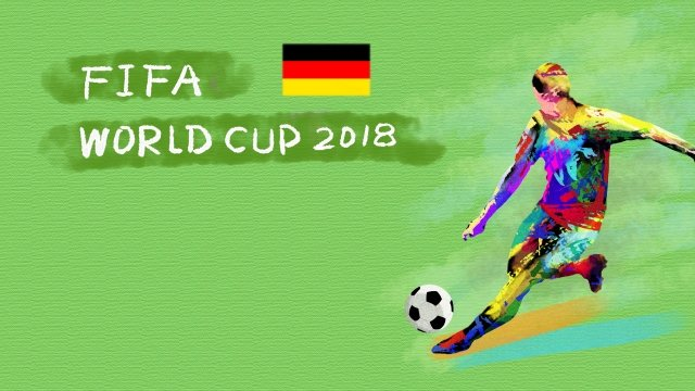ドイツサッカーワールドカップ2018 イラスト素材 イラスト画像