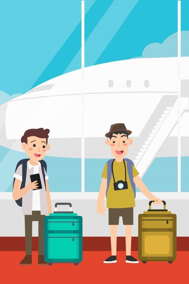 グローバル旅行の日グローバル観光の日観光旅行 イラスト素材