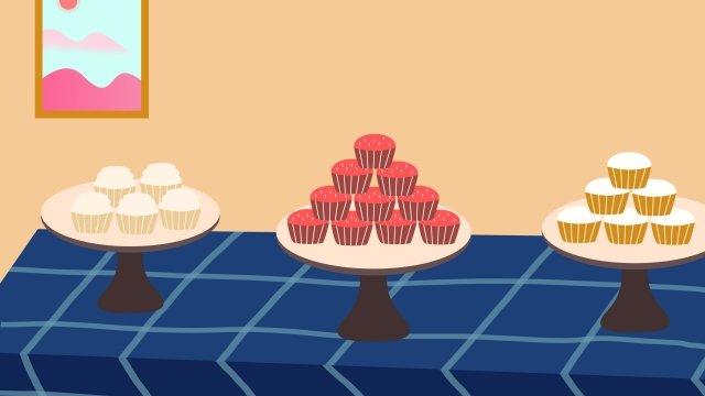 gourmet dessert dessert cake food llustration image illustration image