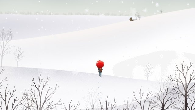 great cold winter snow scene heavy snow winter llustration image