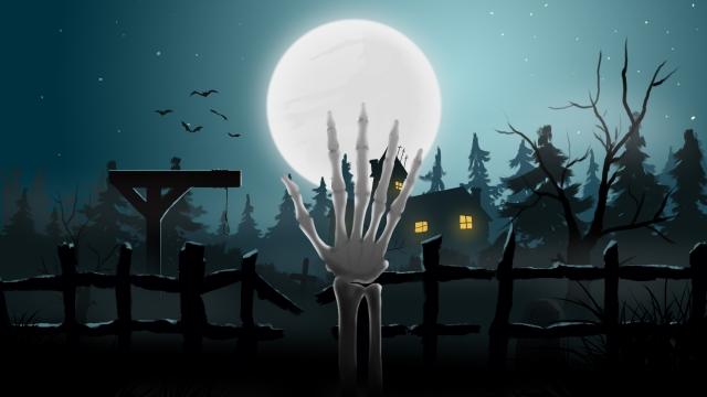 dơi nghĩa trang halloween Hình minh họa Hình minh họa