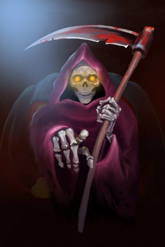 pekak kepala labu halloween imej keterlaluan imej ilustrasi