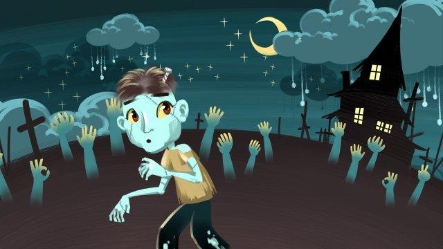 lễ hội halloween tay zombie Hình minh họa
