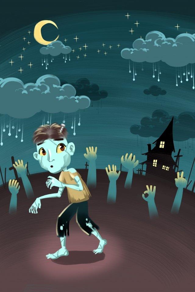lễ hội halloween tay zombie Hình minh họa Hình minh họa