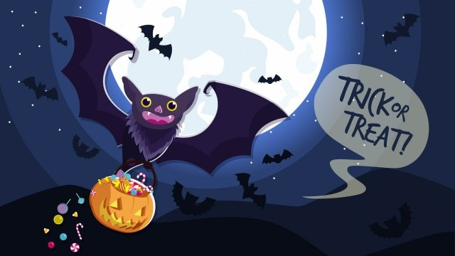 Tông màu tím vẽ tay halloween bat minh họa Halloween Dơi Halloween Phim hoạtNgô  Kẹo  Hình PNG Và Vector illustration image