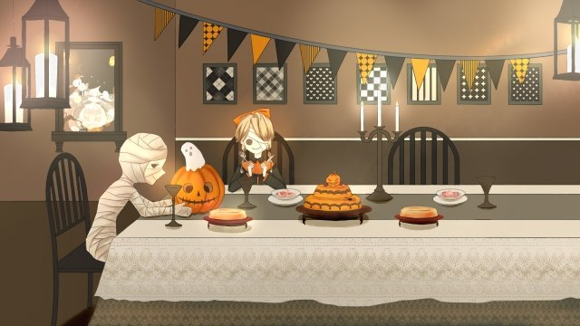 halloween halloween ghost festival masquerade llustration image