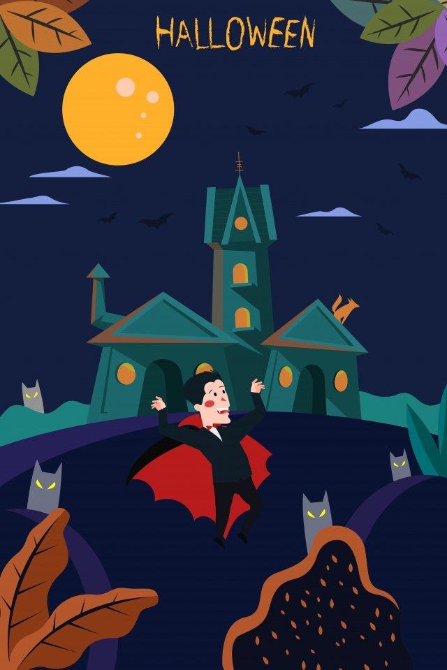 halloween halloween halloween castle vampire baron imej keterlaluan