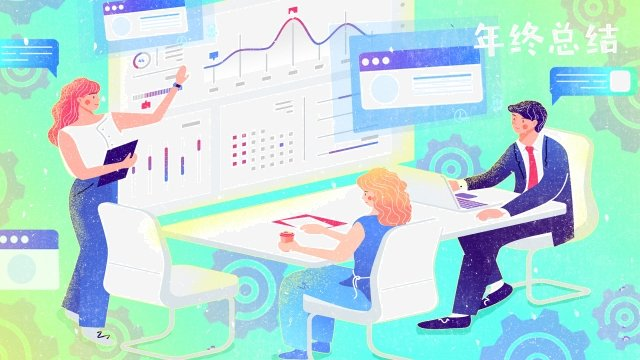 हाथ चित्रित प्रदर्शन बाजार डेटा डेटा चित्रण छवि चित्रण छवि