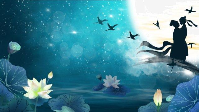 手塗りqixi祭り臆病者とウィーバーqixi祭り臆病者とウィーバー イラスト素材 イラスト画像