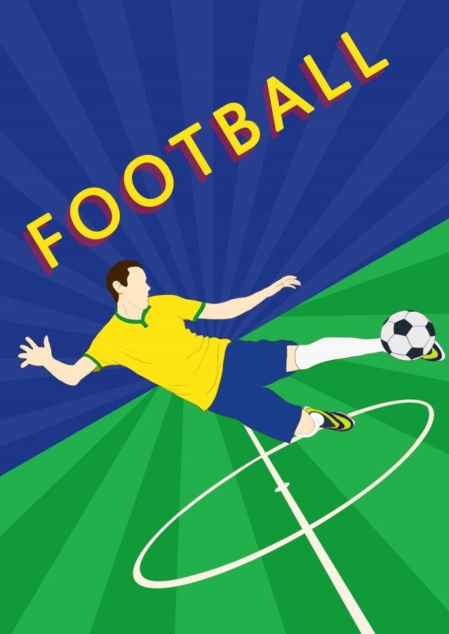 vẽ tay world cup bóng đá trận bóng đá Hình minh họa