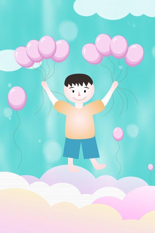 幸せな子供の日子供の日6 1漫画 イラスト素材