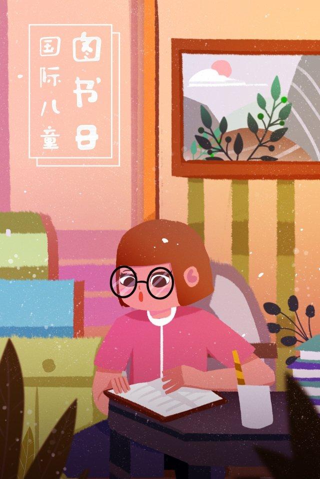 hệ thống chữa bệnh minh họa thế giới trẻ em ngày thế giới cuốn sách đọcđọc  Vẽ  Tay PNG Và PSD illustration image