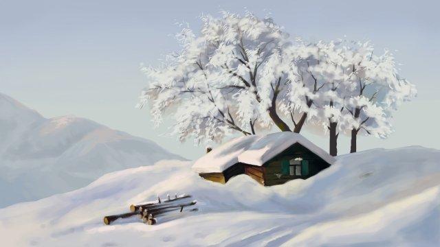 tuyết nặng tuyết mặt trời điều khoản tuyết núi Hình minh họa