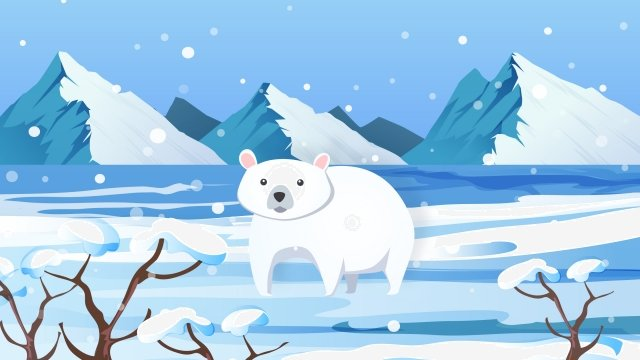 大雪ソーラー用語図冬 イラスト素材